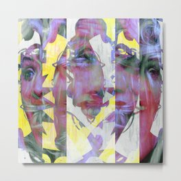 Everybody's talking at the same time interpreters. [A] Metal Print