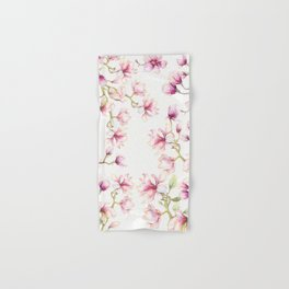 Delicate Magnolia 2 Hand & Bath Towel