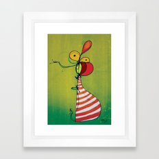 Ballon Man Framed Art Print