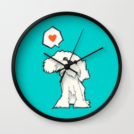The Dog That Loves Wall Clock