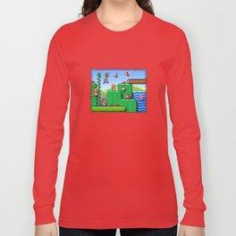 Super Mario 2 Long Sleeve T-shirt