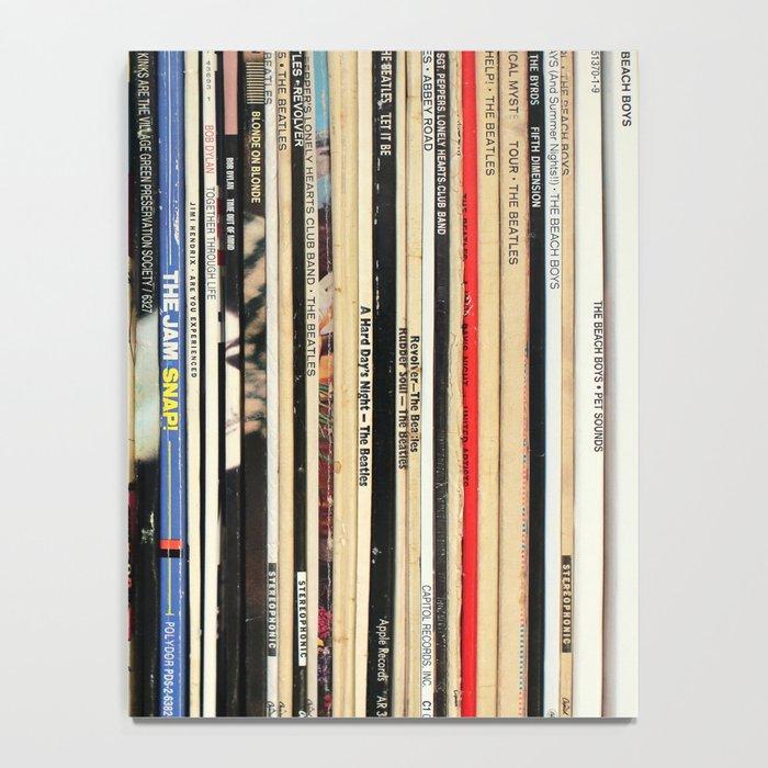 Classic Rock Vinyl Records Notebook