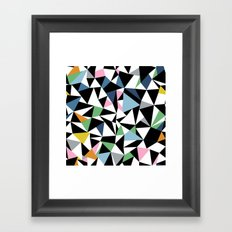 Abstraction Repeat #3 Framed Art Print