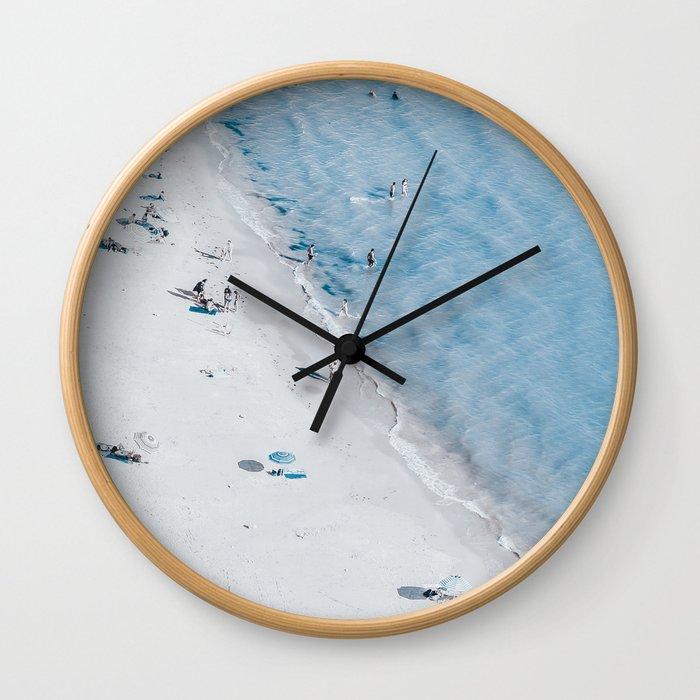Beach Life 3 Wall Clock
