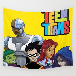 Teen Titans Wall Tapestry
