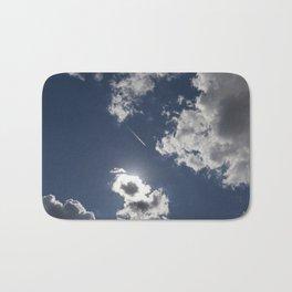sky clouds Bath Mat