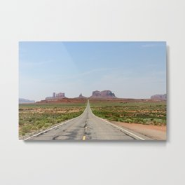 Monument Valley Horizontal Metal Print