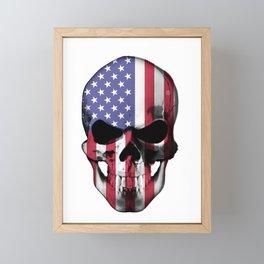 USA Skill head Framed Mini Art Print