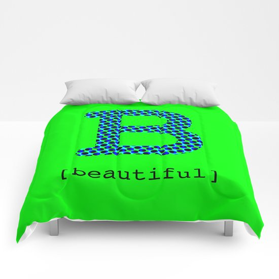#B [beautiful] Comforters