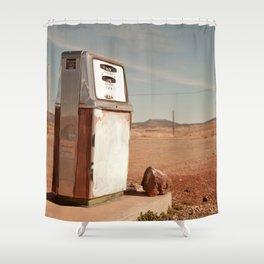 Desert Gas Shower Curtain