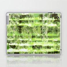 Greenery Tie-Dye Shibori Laptop & iPad Skin