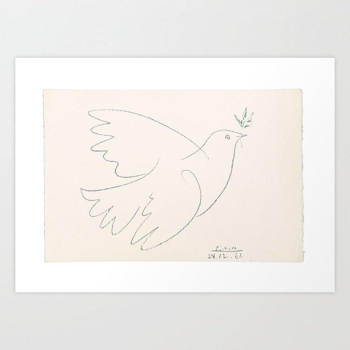 Picasso peace Kunstdrucke