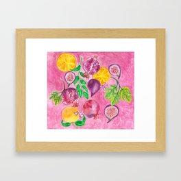 Favourite things Framed Art Print