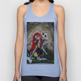 Jack and sally nightmere Unisex Tank Top