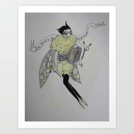 Long Live the Wasp Art Print