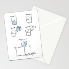 Half a Glass Stationery Cards
