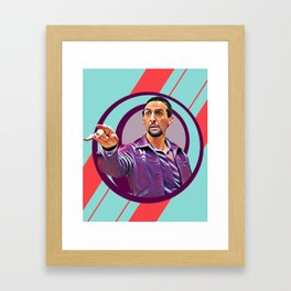 You gotta day Wednesday baby ! Framed Art Print