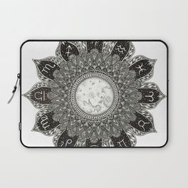 Astrology Signs Mandala Laptop Sleeve