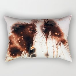 Oranges and fire Rectangular Pillow