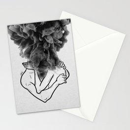 Let's make a storm of love. Stationery Cards