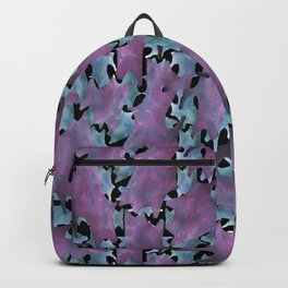 Modern Abstract Texture Pattern Backpack