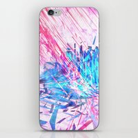 data iPhone & iPod Skins featuring Data Surge by Adom Balcom