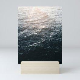 Sunset at Huntington Beach Mini Art Print