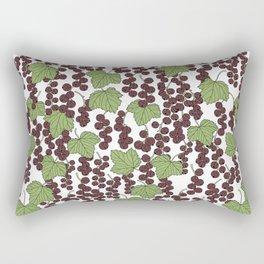 Black Currants Rectangular Pillow