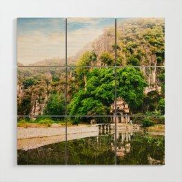 Bich Dong Pagoda in Vietnam Fine Art Print  • Travel Photography • Wall Art Wood Wall Art