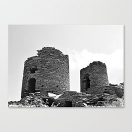 Tinos countryside Canvas Print