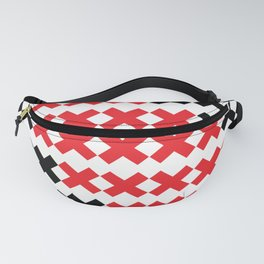 Red Exes Fanny Pack
