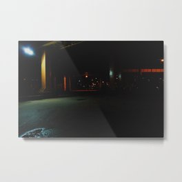 Darkly lit Two Metal Print
