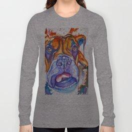 Boxer Blues (Lucille) Long Sleeve T-shirt