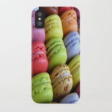 Macaroons iPhone X Slim Case
