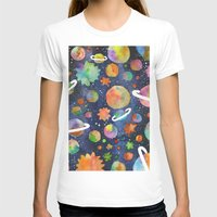 planet T-shirts featuring Planet by Michaella Fonseca