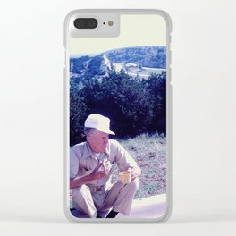 Coffee Break Clear iPhone Case