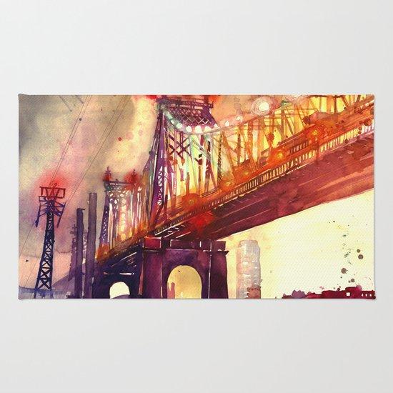 Queensboro Bridge Rug