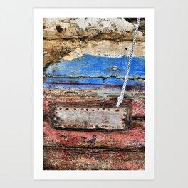 A life at sea#2 Art Print