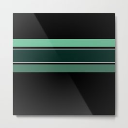 Team Colors 2...dk.green.light green , lighter green Metal Print
