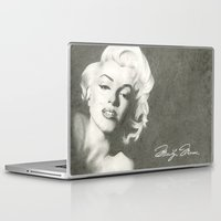 monroe Laptop & iPad Skins featuring Monroe by Brittany Shively