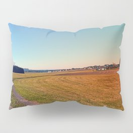 Hiking through beautiful scenery | landscape photography Pillow Sham
