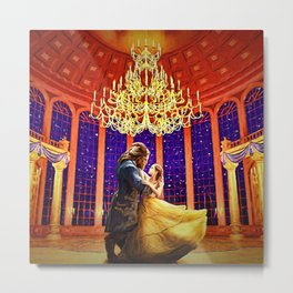 Belle of the Ballroom Metal Print