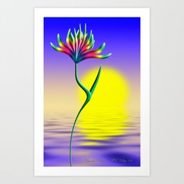 Chandra Art Print