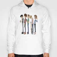 1d Hoodies featuring Another 1D poster by cargline