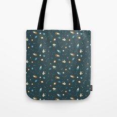 Lil Astronaut Pattern (8bit) Tote Bag