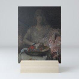 Alfred Stevens - Salome Mini Art Print