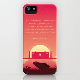 Plague Of The Frogs iPhone Case