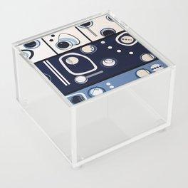 Spec of Blue Acrylic Box