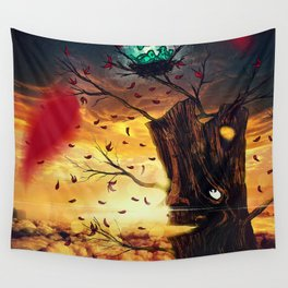 The Last Autumn Wall Tapestry