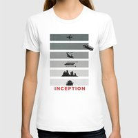 inception T-shirts featuring Inception by Duck Cartel